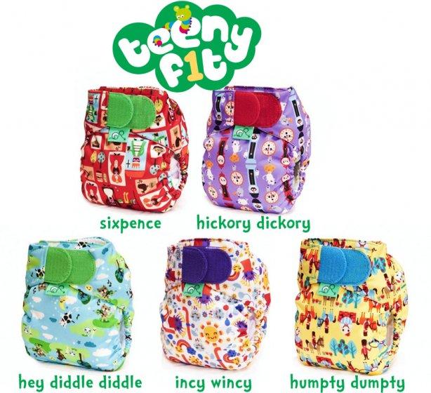 TotsBots Teenyfit V4 Nursery Prints