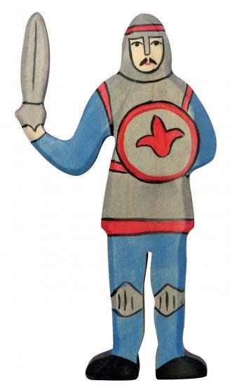 Holztiger Blue Fighting Knight