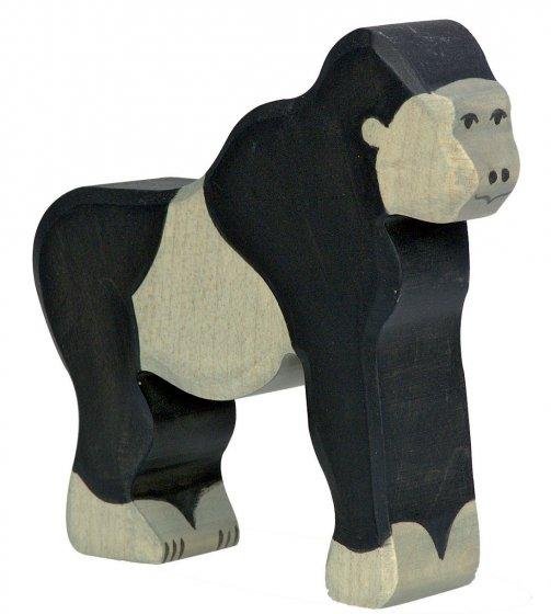 Holztiger Gorilla