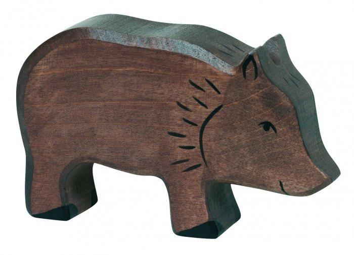 Holztiger Feeding Wild Boar