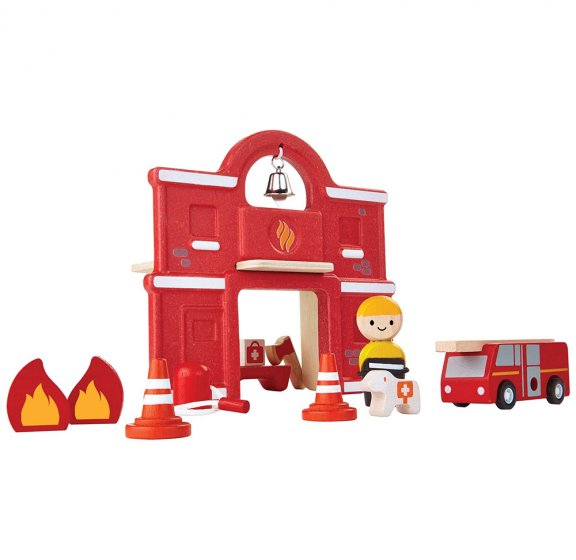 Plan Toys Fire Station PlanWorld