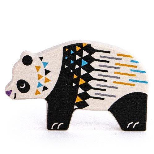 Bajo Endangered Animals Figures - Panda Bear