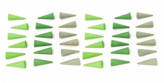Grapat 36x Mandala Mini Cones
