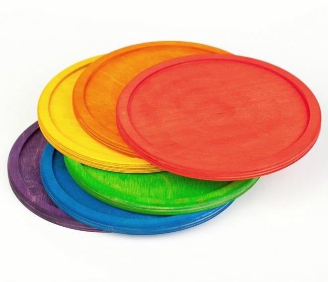 Grapat 6 Rainbow Dishes