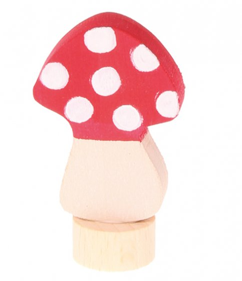 Grimm's Fly Agaric Mushroom Decorative Figure