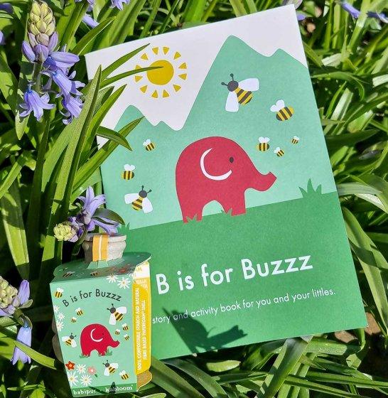 Babipur Bee Seedbom & Activity Book