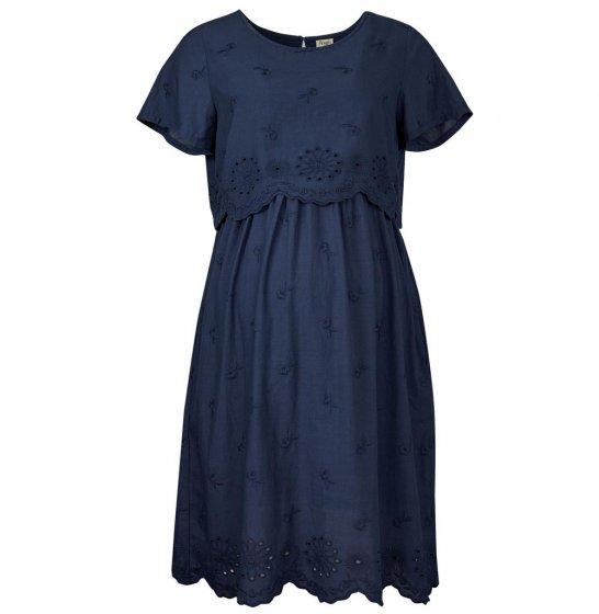 Frugi Adult Indigo Shiffly Dress
