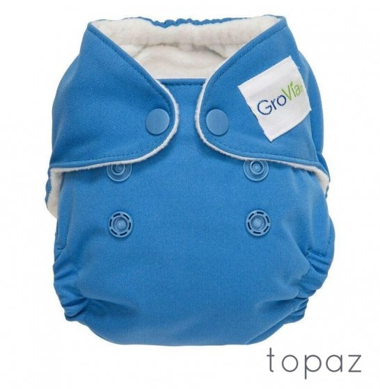 GroVia Newborn Cloth Nappy-Topaz