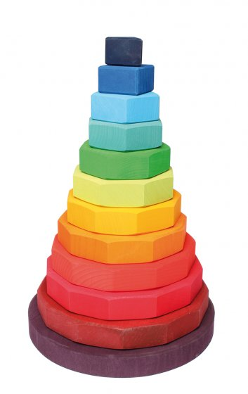 Grimm's Large Geometric Stacking Tower