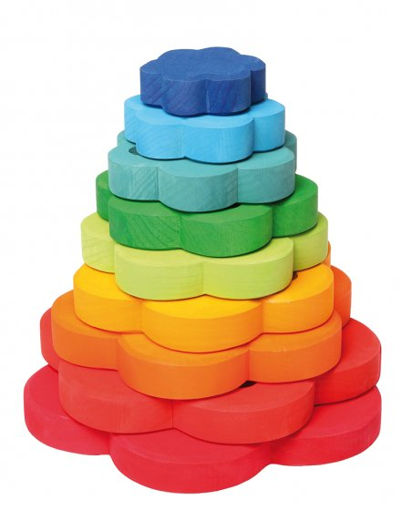 Grimm's Stacking Flowers Tower
