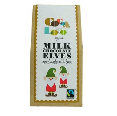 Cocoa Loco Milk Chocolate Elves 100g