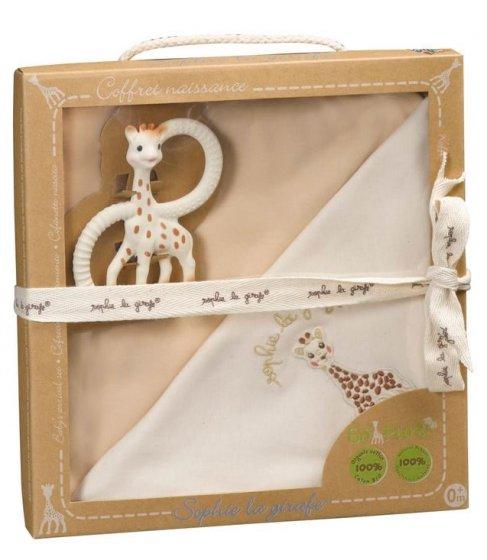 Sophie the Giraffe Blanket & Teether Birth Set