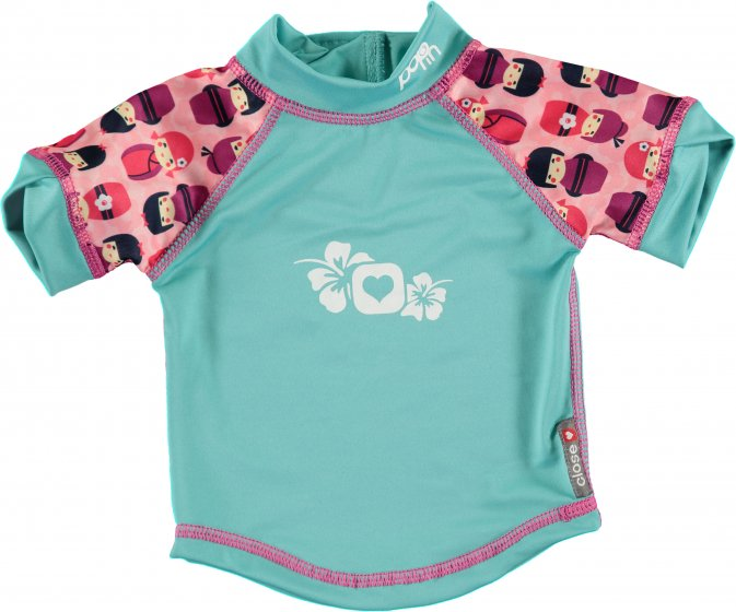 Pop-In Rash Vest - Kokeshi Doll