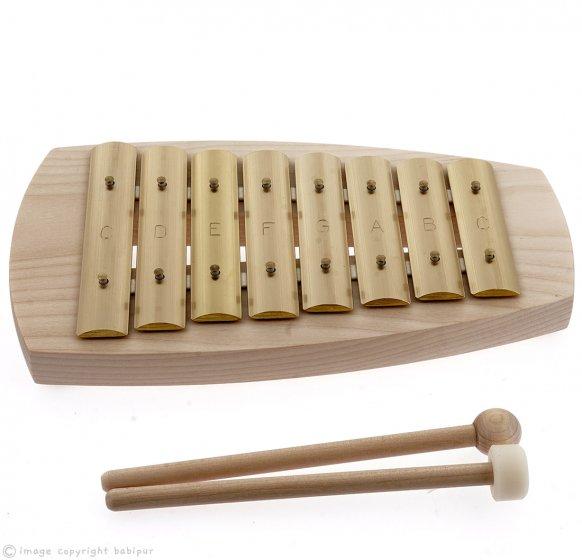 Auris Block Diatonic Glockenspiel – 8 Note