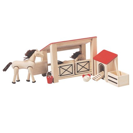 Plan Toys Wooden Stable