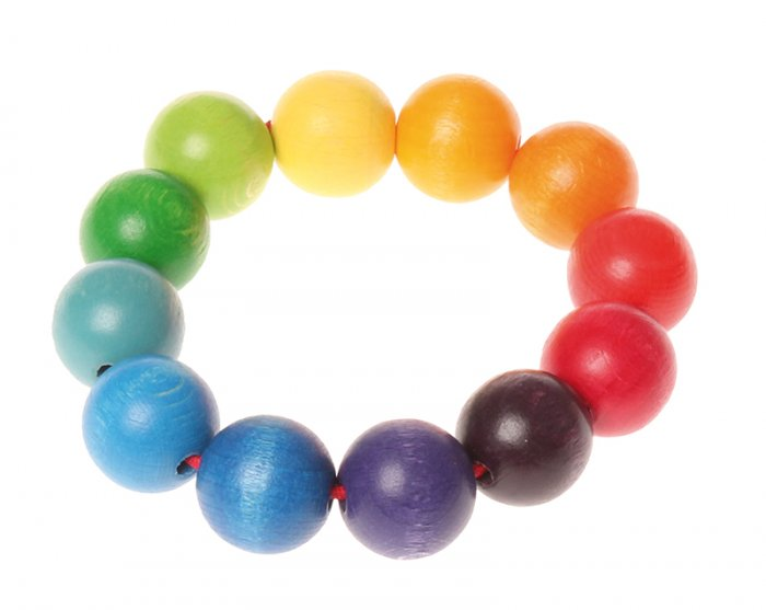 Grimm's Grasping Toy Bead Ring