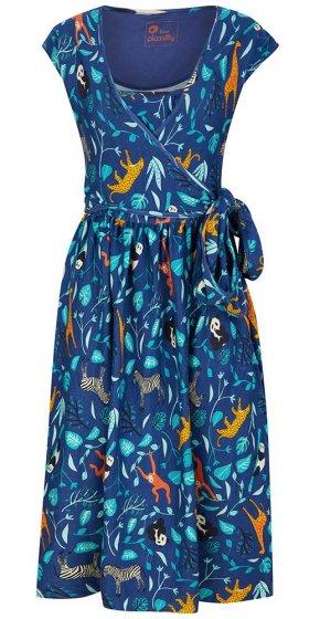 Piccalilly Wildlife Wrap Dress