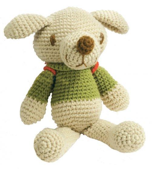 Crochet Backpack Dog 27cm
