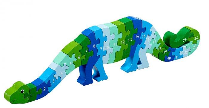 Lanka Kade Dizzie The Dinosaur 1-25 Jigsaw