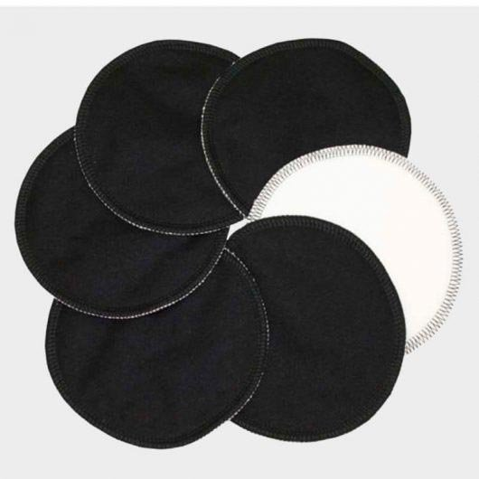 Imse Vimse Stay Dry Breast Pads 3 Pairs - Black