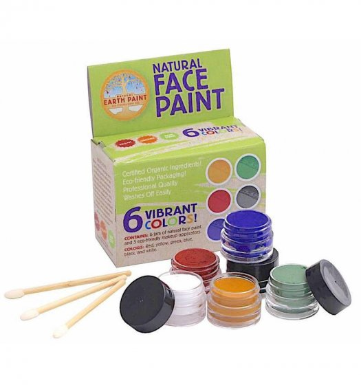 Natural Earth Paint Natural Face Paint Kit - 6 Colours