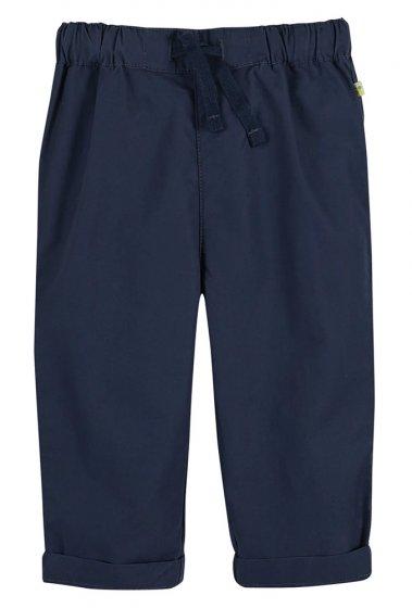 Frugi Tommy trousers indigo with drawstring waist