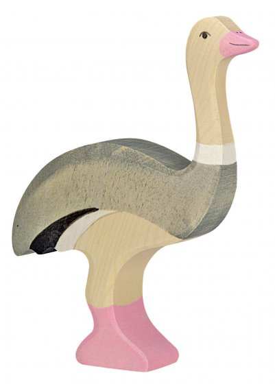 Holztiger Ostrich