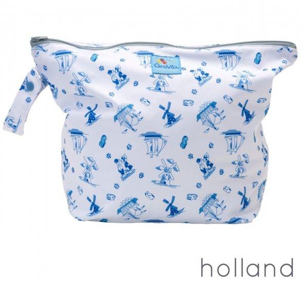 GroVia Zip Wet Bag-Holland