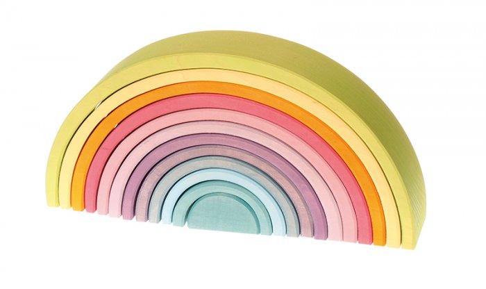 Grimm's Pastel Rainbow Tunnel