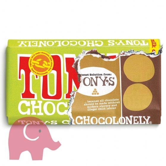 Tony's Chocolonely Fairtrade Creamy Hazelnut Crunch 180g