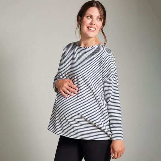 Frugi Breton Audrey Boxy Adults Maternity Top