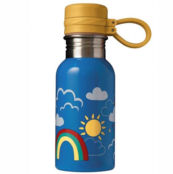 Frugi Rainbow Skies Splish Splash Steel Bottle