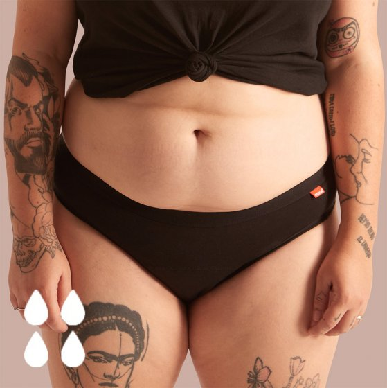 WUKA Basics Hipster Period Pants - Heavy Flow