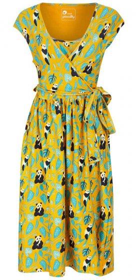 Piccalilly Adults Panda Wrap Dress