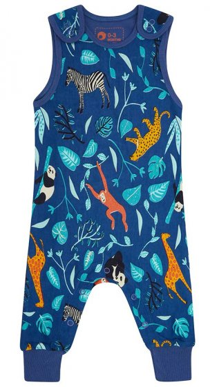 Piccalilly Wildlife Dungarees