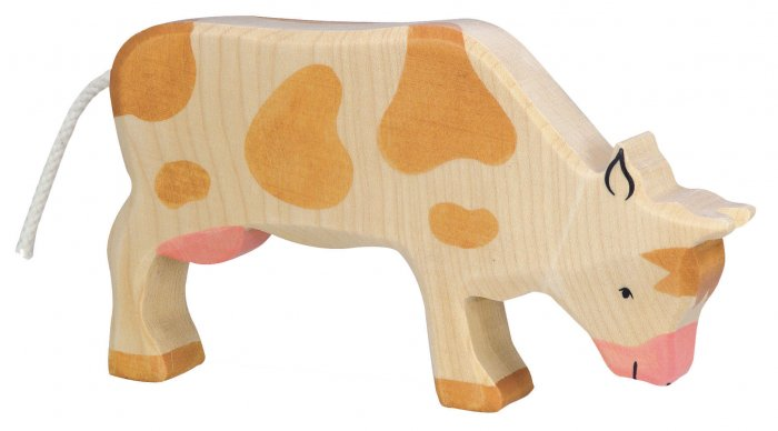 Holztiger Brown Grazing Cow