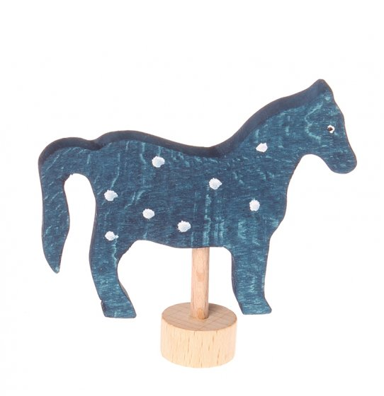Grimm's Blue Horse Decorative Figure