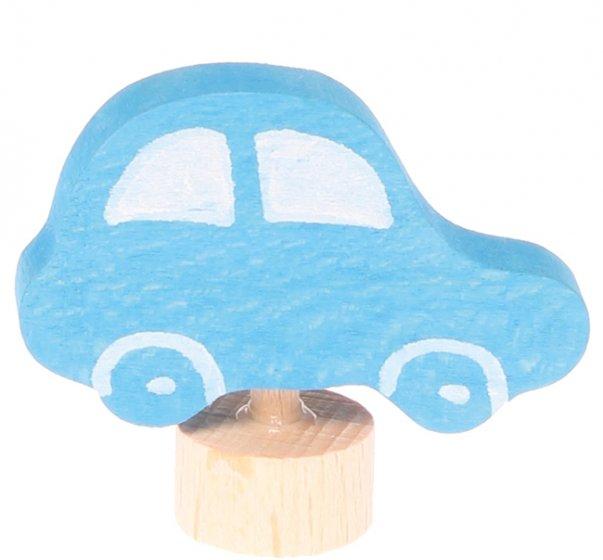 Grimm's Blue Car Decorative Figure