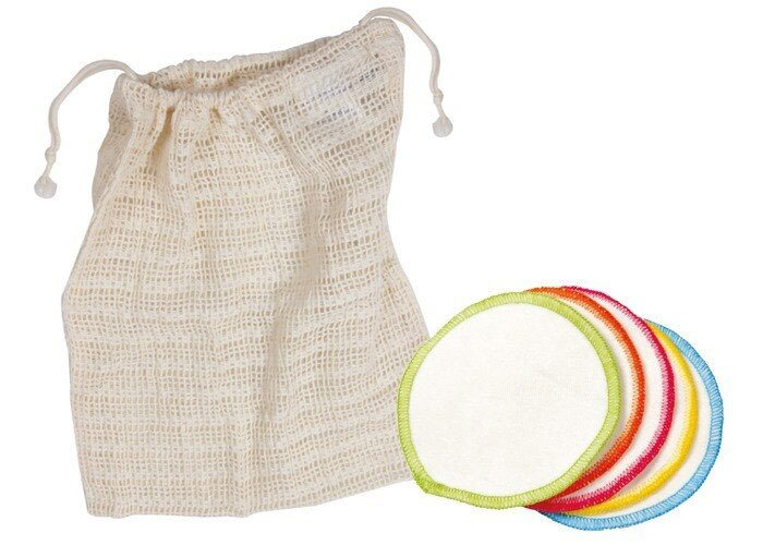 Ecoliving 10 Organic Make up Wipes and Wash Bag