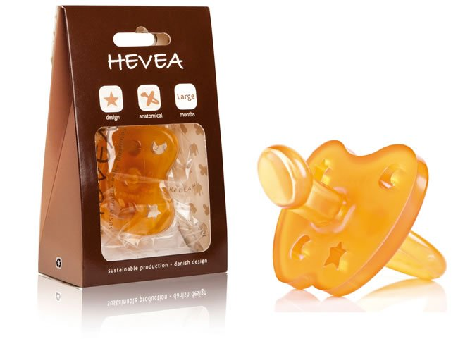 Hevea Soother Orthodontic Teat 0-3 Months