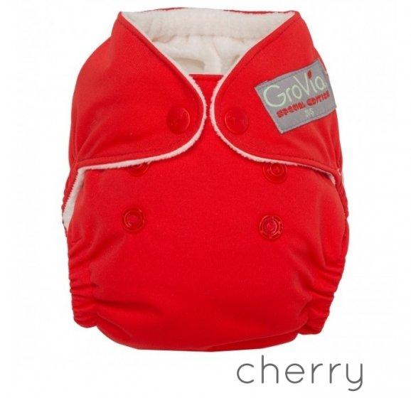 GroVia Newborn Cloth Nappy-Cherry
