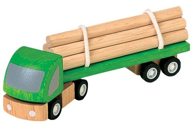 Plan Toys Logging Truck PlanWorld