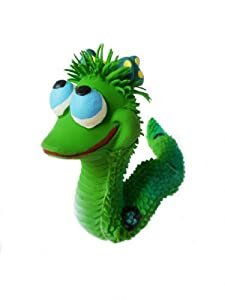 Lanco Maggy the Snake Sensory Toy Green