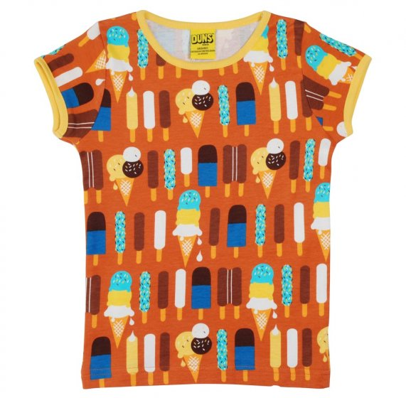 Duns Ice Cream Pumpkin SS Top