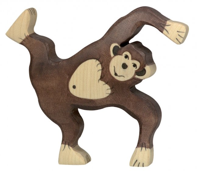 Holztiger Playing Chimpanzee
