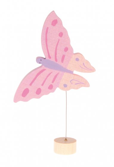 Grimm's Pink Butterfly Decorative Figure