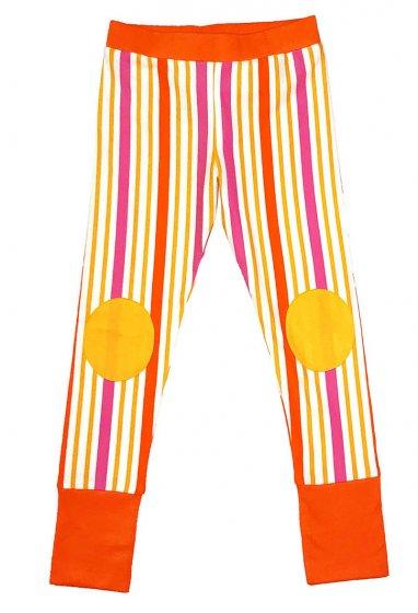 Moromini Striped Orange Leggings