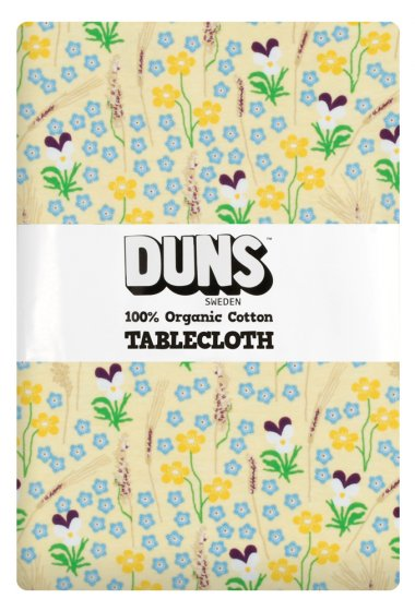 DUNS Meadow Yellow Table Cloth