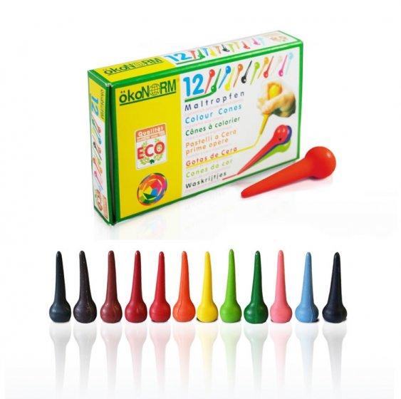 OkoNorm 12 Cone Crayons