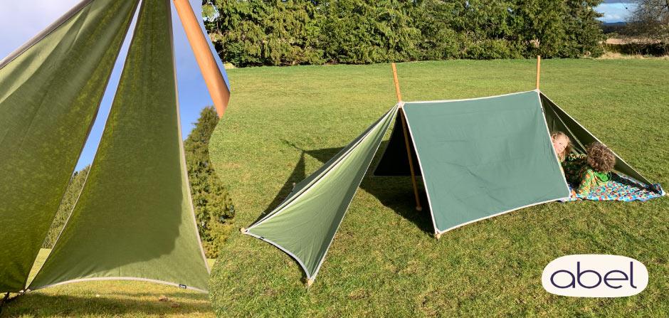 abel tents at babipur